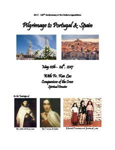 Pilgrimage to Portugal & Spain