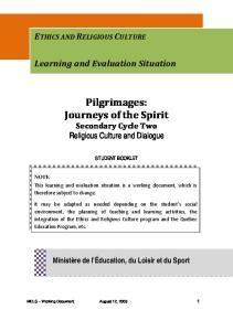 Pilgrimages: Journeys of the Spirit