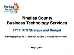 Pinellas County Business Technology Services
