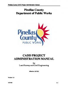 Pinellas County Department of Public Works