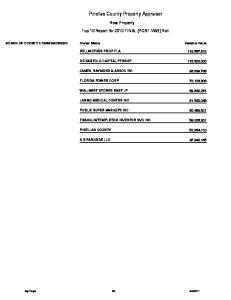Pinellas County Property Appraiser