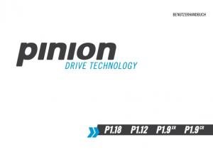Pinion GmbH 2014 All rights reserved Printed in Germany Inhalt: