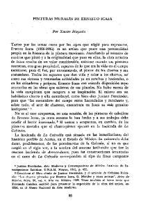 PINTURAS MURALES DE ERNESTO ICAZA