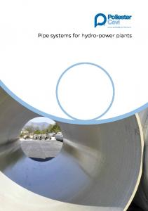 Pipe systems for hydro-power plants