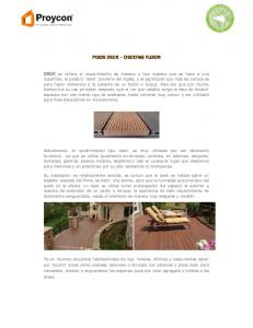 PISOS DECK DECKING FLOOR