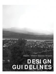 Pitkin County Airport DESIGN GUIDELINES