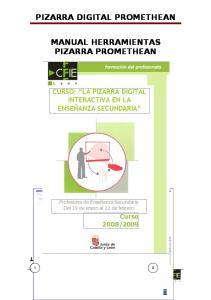 PIZARRA DIGITAL PROMETHEAN MANUAL HERRAMIENTAS PIZARRA PROMETHEAN