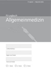 PJ-Logbuch Allgemeinmedizin
