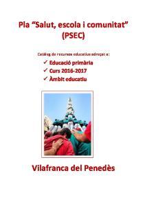 Pla Salut, escola i comunitat (PSEC)