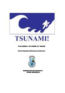 PLAN COMUNAL ANTE RIESGO DE TSUNAMI