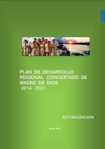 PLAN DE DESARROLLO REGIONAL CONCERTADO DE MADRE DE DIOS