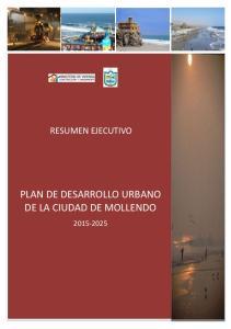 PLAN DE DESARROLLO URBANO DE LA CIUDAD DE MOLLENDO