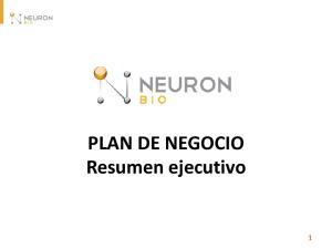 PLAN DE NEGOCIO Resumen ejecutivo