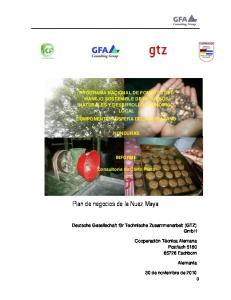 Plan de negocios de la Nuez Maya