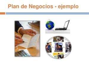 Plan de Negocios - ejemplo