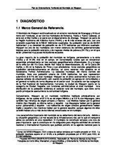 Plan de Ordenamiento Territorial del Municipio de Waspam