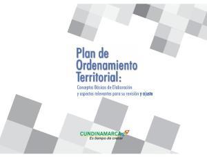 Plan de Ordenamiento Territorial: