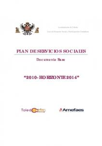 PLAN DE SERVICIOS SOCIALES