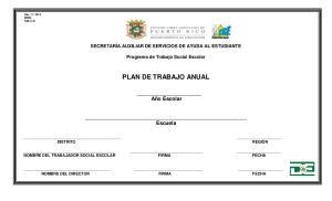 PLAN DE TRABAJO ANUAL