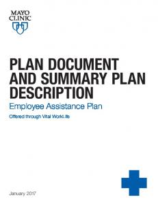PLAN DOCUMENT AND SUMMARY PLAN DESCRIPTION
