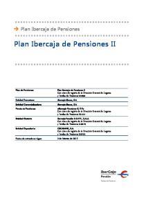Plan Ibercaja de Pensiones II
