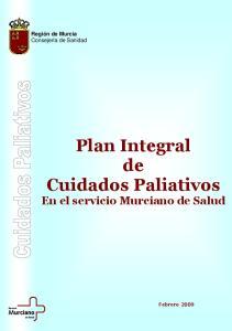 Plan Integral de Cuidados Paliativos