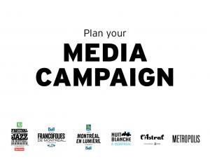 Plan your MEDIA CAMPAIGN