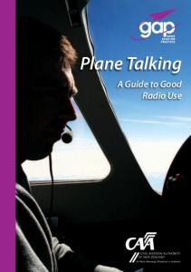 Plane Talking. A Guide to Good Radio Use