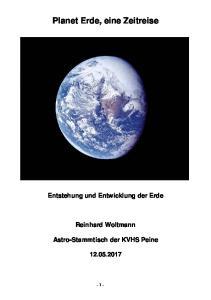 Planet Erde, eine Zeitreise