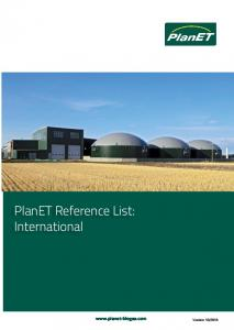 PlanET Reference List: International