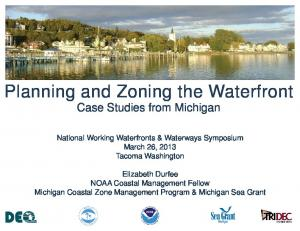 Planning and Zoning the Waterfront