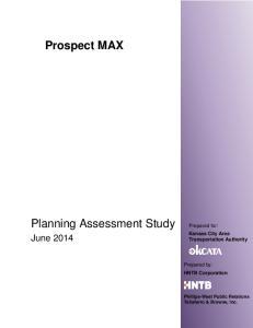 Planning Assessment Study