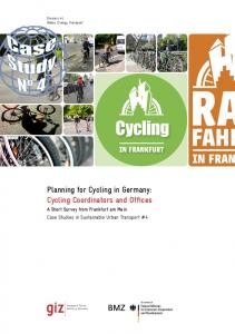 Planning for Cycling in Germany: Cycling Coordinators and Offices