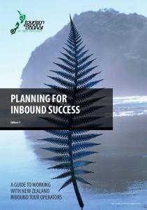 PLANNING FOR INBOUND SUCCESS