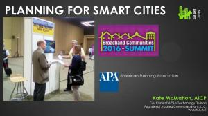 PLANNING FOR SMART CITIES