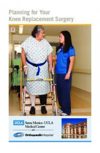 Planning for Your Knee Replacement Surgery
