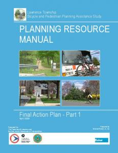 PLANNING RESOURCE MANUAL