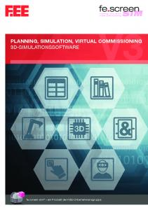 PLANNING, SIMULATION, VIRTUAL COMMISSIONING 3D-SIMULATIONSSOFTWARE