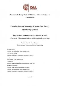 Planning Smart Cities using Wireless Low Energy Monitoring Systems