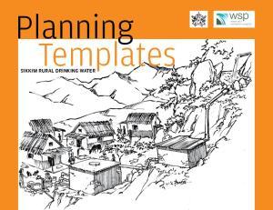 Planning Templates. Sikkim Rural drinking water