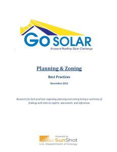 Planning & Zoning. Best Practices