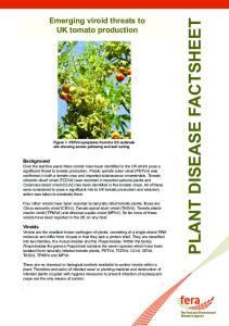 PLANT DISEASE FACTSHEET