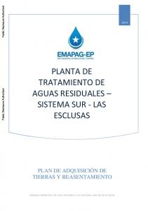PLANTA DE TRATAMIENTO DE AGUAS RESIDUALES SISTEMA SUR - LAS ESCLUSAS