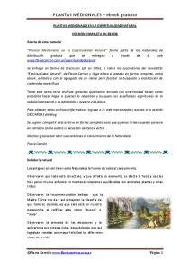 PLANTAS MEDICINALES ebook gratuito