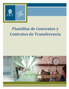 Plantillas de Convenios y Contratos de Transferencia