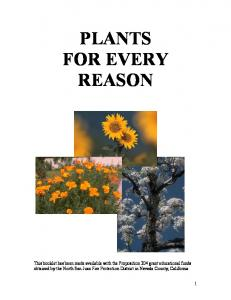 PLANTS FOR EVERY REASON