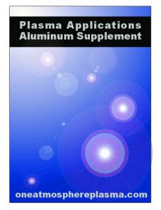 Plasma Applications Aluminum Supplement