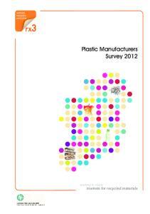 Plastic Manufacturers Survey 2012