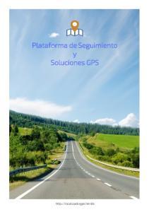 Plataforma de Seguimiento y Soluciones GPS