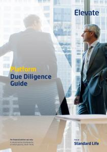 Platform Due Diligence Guide